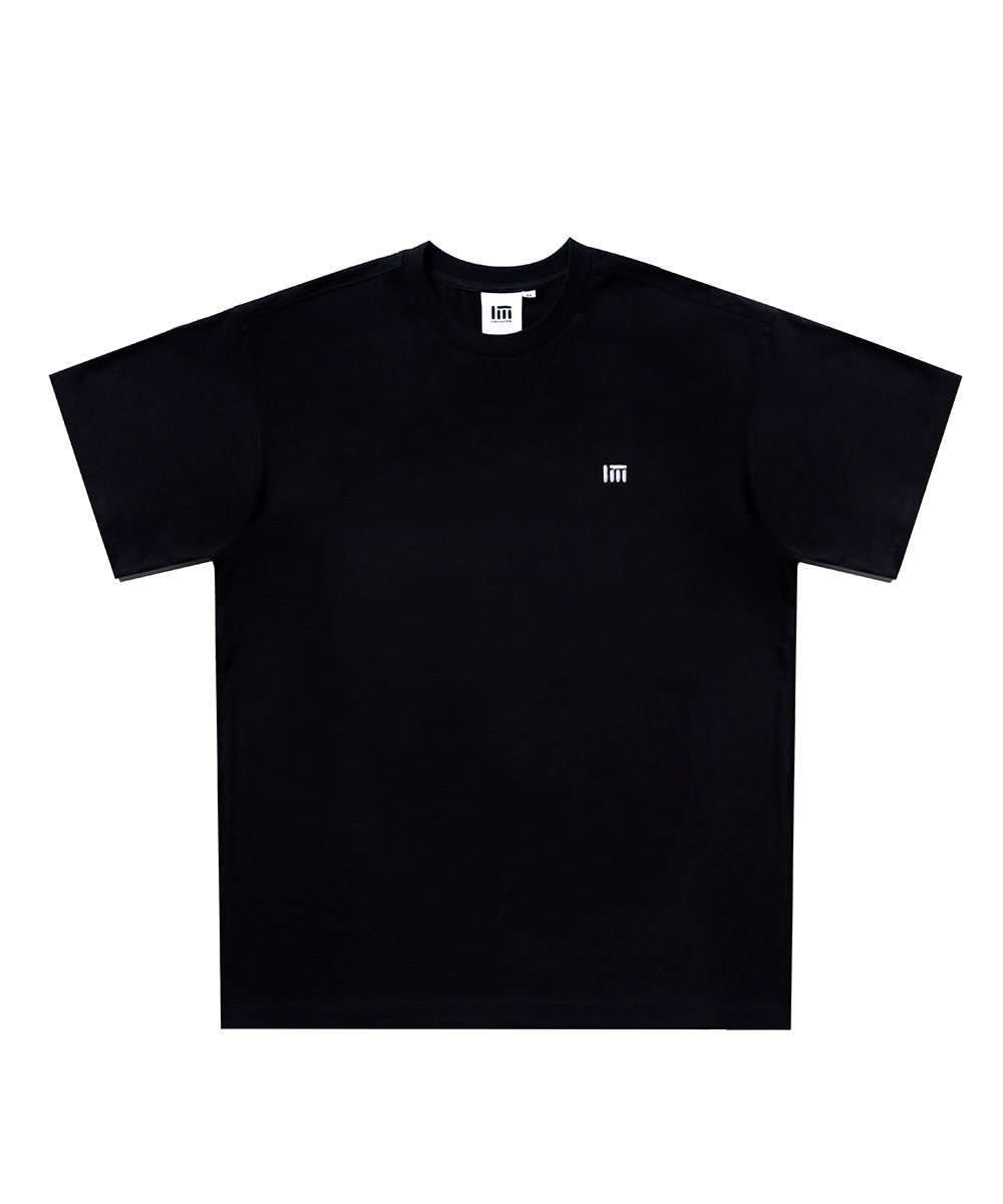 SIMPLE LOGO T-SHIRT [BLACK]
