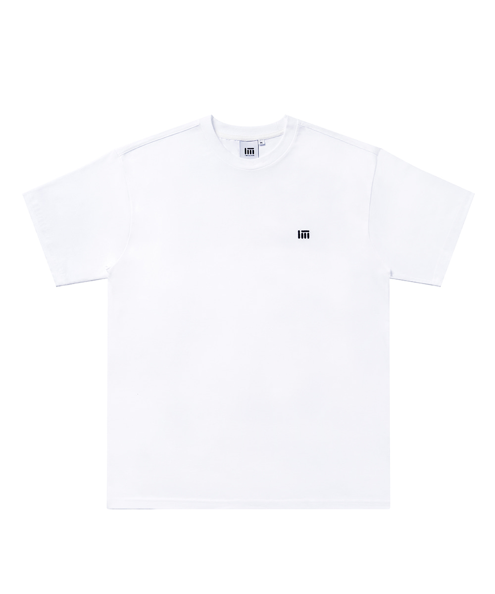 SIMPLE LOGO T-SHIRT [WHITE]